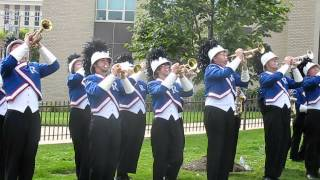 "Ravenna Ravens Marching Band perform ""The Safety Dance"" at Balloon-A-Fair 2011"