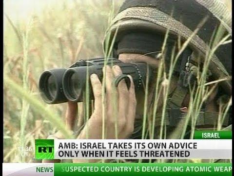 'Israeli spies warn against military strike on Iran' - ex-ambassador