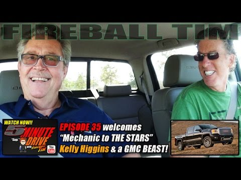 Malibu's Mechanic to the Stars KELLY HIGGINS 5Minute Drive (Ep35) FIRE