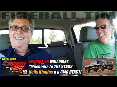 Malibu's Mechanic to the Stars KELLY HIGGINS 5Minute Drive (Ep35) FIRE