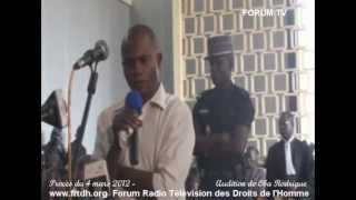 Procès du 4 mars 2012   Audition de Oba Rodrigue