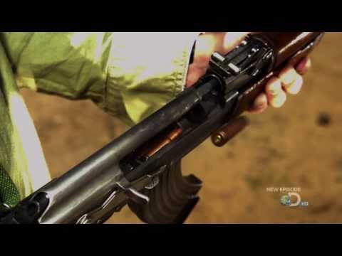 АК 47 - В супер замедленной съемке
