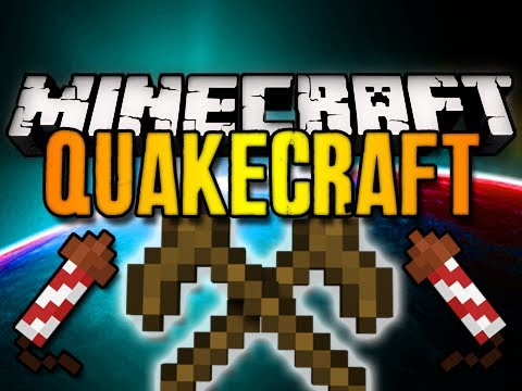 Minecraft: QuakeCraft FPS Mini-Game w/ Chim & Friends! (HD)