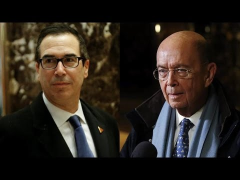 "Bankers Behind ""Great Foreclosure Machine"" Join Trump's Cabinet as Treasury & Commerce Secretaries"