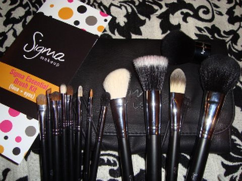 SIGMA! Affordable MAC-Quality Brushes