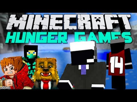 Minecraft Hunger Games - Episode #14 w/Bajan Canadian, Jerome and DavidBrown! - Unstoppable!