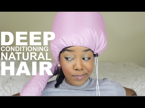 Deep Conditioning Natural Hair   My Routine   #RYT