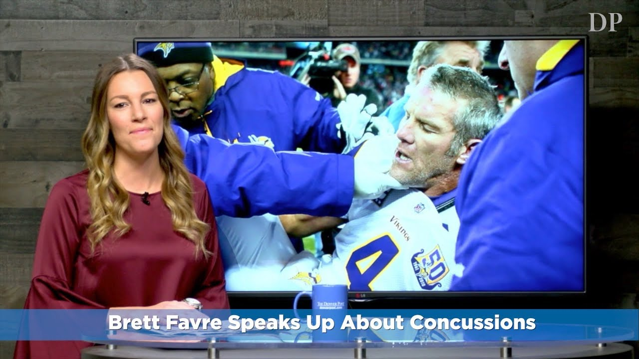 Brett Favre Speaks Up About Concussions