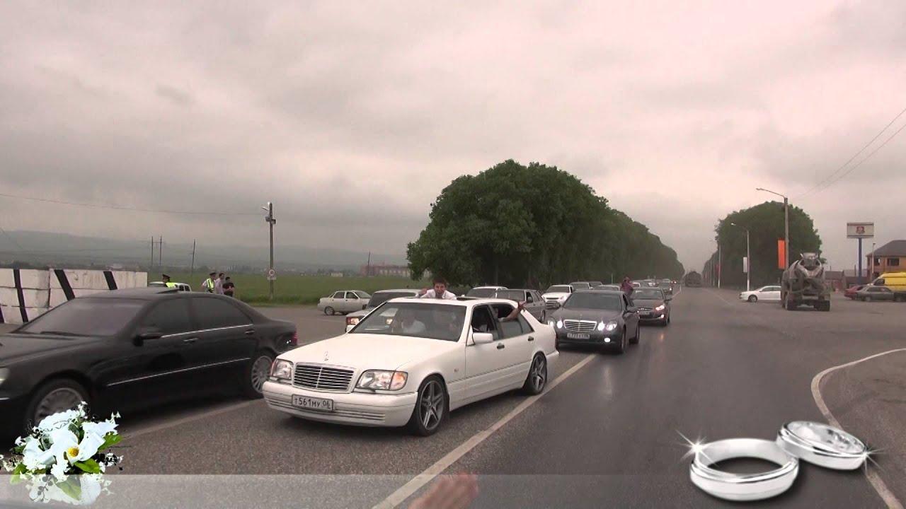 Ингушские свадьбы машины