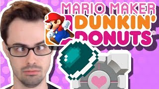 Mario Maker - Companion Shell and Dunkin Donuts | One-Screen Puzzles by Seanhip #13