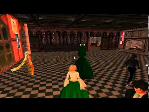 A Librarian in Queen Elizabeth's Court: Libraries and Virtual World Learning