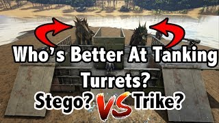 Who's The BETTER SOAKER? - Trike Or Stego?!