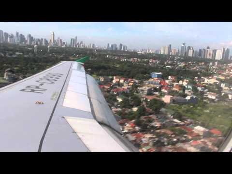 AirAsia Zest Z2 429 Puerto Princesa (PPS)  to Manila (MNL) Airbus 319-100 RP-C8990 12 SEP 14