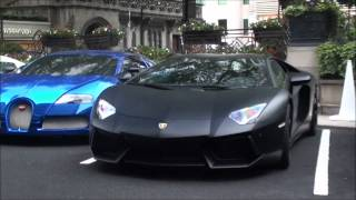 A Night In London - Arab Supercars. LOUD Audi R8, Aventador, Veyrons, Drifting Nissan GTR etc