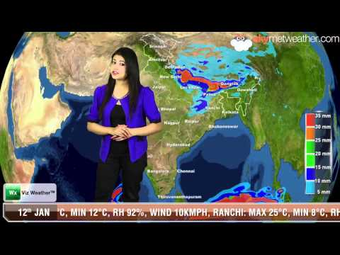 12/01/14 - Skymet Weather Report for India