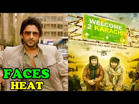Arshad Warsi starrer film 'Welcome to Karachi' faces heat on social media | Bollywood News
