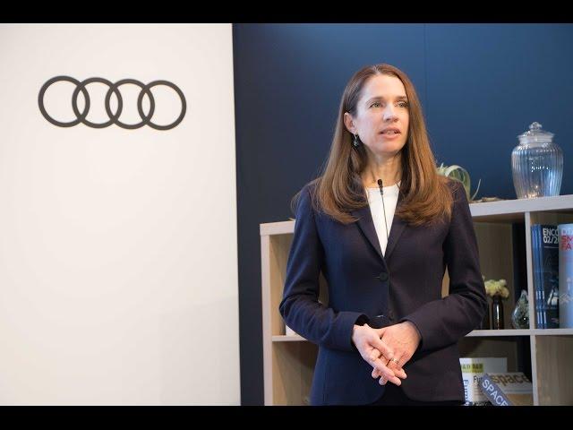 《アウディ ジャパン2017年新春会見ならびにThe new Audi A3 記者発表会》 アウディ ジャパン株式会社 マーケティング本部 本部長 ミクシェ シルケによるプレゼンテーション(The new Audi A3)