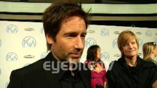 "David Duchovny ""I seem to have terrible ideas..."""
