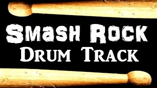 Smash Rock Drum Beat 120 BPM Drum Track #395