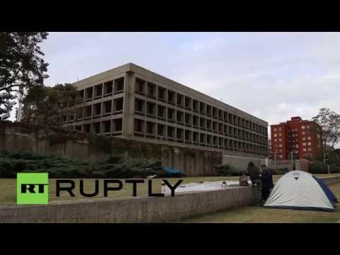 Uruguay: Ex-Gitmo prisoners set up camp at U.S. embassy