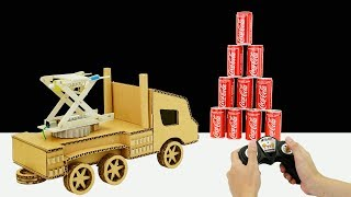 How To Make Missile Launcher Truck From Cardboard - DIY Truck