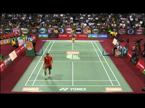 Parupalli Kashyap Vs Vladimir Ivanov | Men's Singles | Banga Beats vs Mumbai Masters 2013