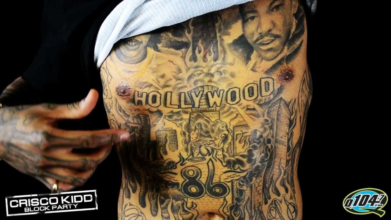 Kid ink tattoos on arm
