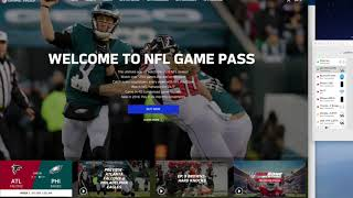 Watching NFL Game Pass International with VPN