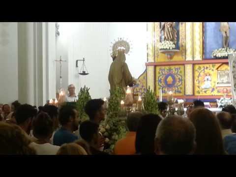 Virgen del Carmen de la playa de la Antilla 2014