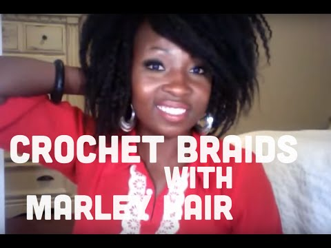 crochet braids with afro twist marley braid hair protective style challenge