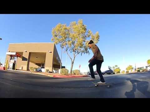 Joey Esteban - Warm up Run for VegasSkateboarding