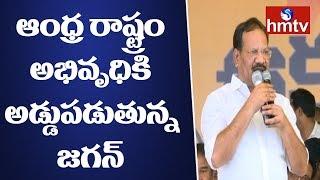 Minister Nakka Ananda Babu Speech   CM Ramesh Hunger Strike    Kadapa Ukku Deeksha    hmtv