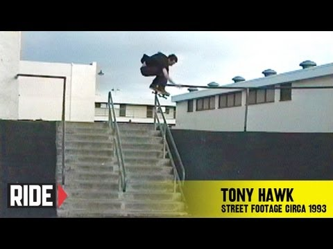 Tony Hawk – Lost Street Footage Circa 1993