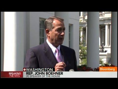 John Boehner: I Support Obama's Call to Action on Syria