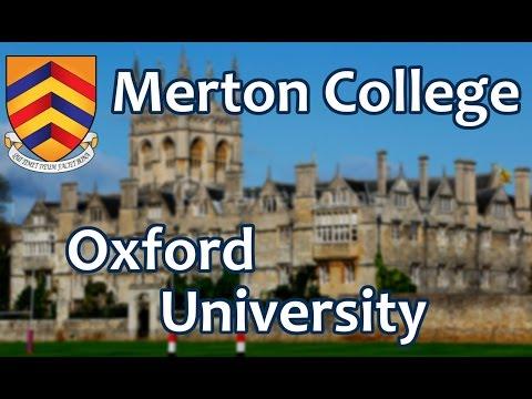128. Мертон Колледж, Оксфордский Университет. Merton College, Oxford University, UK.