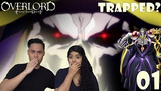 Overlord Season 1 Episode 1 Reaction and Review! Yggdrasil trapped Momonga?