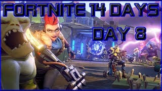 Fortnite Save the World, Day 8