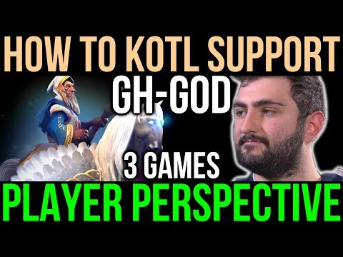 GH Keeper of the Light [POV] How to Support Like a Pro - TI7 Compilation