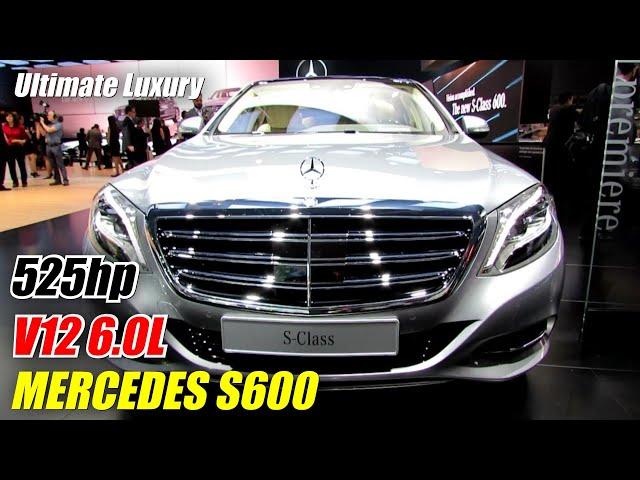 2015 Mercedes-Benz S-Class S600 - Exterior and Interior ...