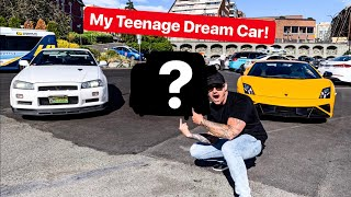 REVEALING MY SURPRISE DREAM CAR I BOUGHT IN CASH YESTERDAY! *ROAD TRIP LAMBO & R34 GTR*
