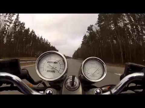 Yamaha FZX 750 0 - 180kmh+