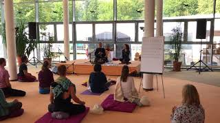 Vocal Yoga by Shanti People - Singing With German Students