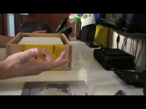 Unboxing - Pistola Imbel MD1A1 GC + Kit ADC no calibre .380ACP