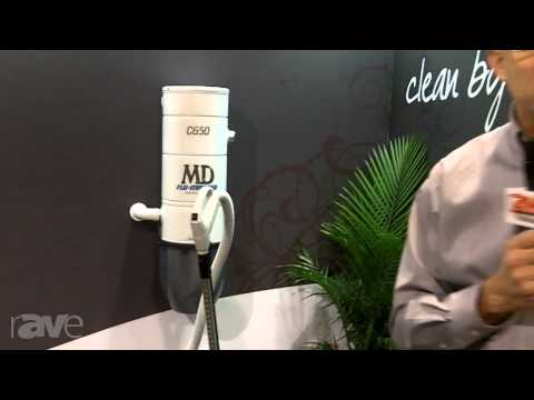 CEDIA 2013: MD Central Vacuum Talks About Central Vacuum Solutions