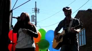 Opening for Sara Evans Chelsea Sorrell singing Undo It by Carrie Underwood guitar by Chris Lane