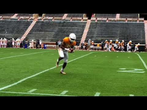 Tennessee football practice highlights, April 7, 2018