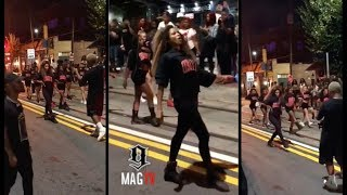 Ciara Shuts Down Entire Atlanta City Block For Her Dose Music Audio