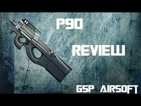 FN P90 Softair Review (GsP Airsoft) GERMAN