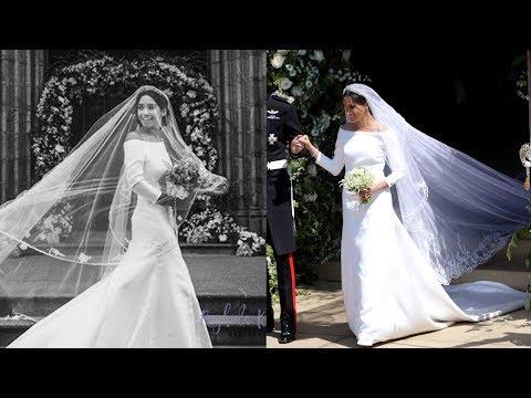 Designer replicates Meghan's bridal dress within 22 hours of royal wedding