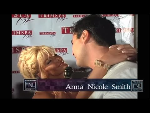 Anna Nicole Smith Chats With Rocco Leo Gaglioti About Trim Spa And More video